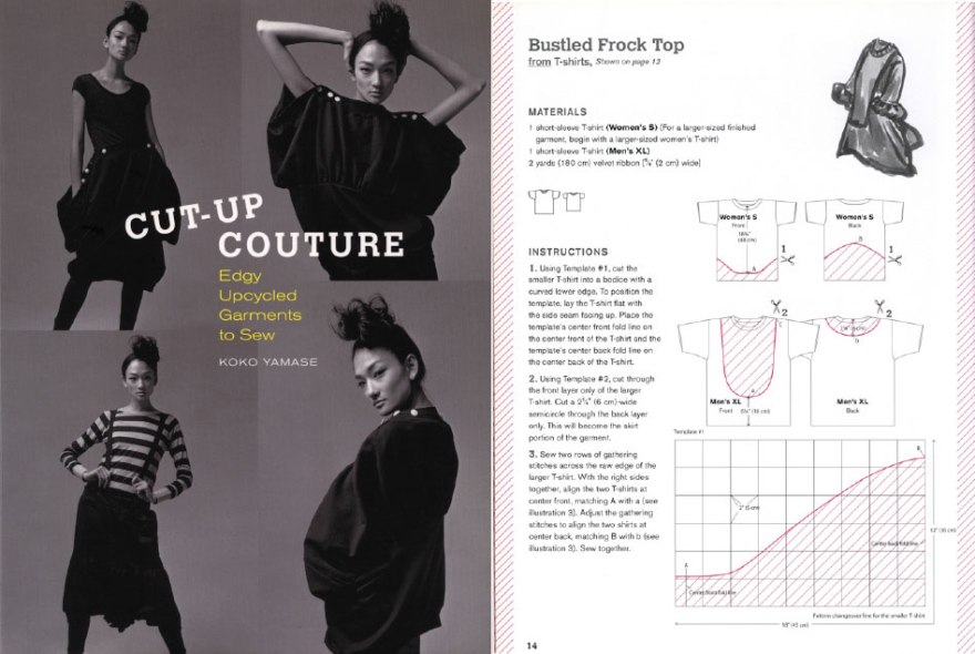 Cut-Up Couture. Koko Yamase. Editora Interweave.